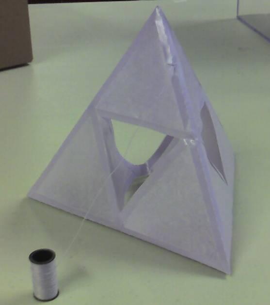 Purple Tetrahedral