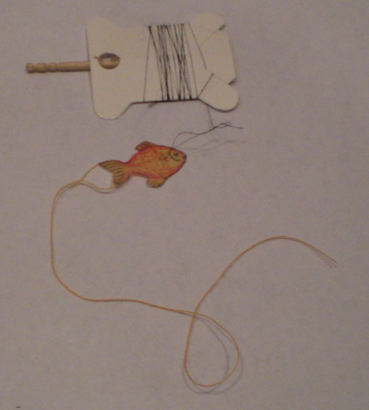 Mini Fish Kite