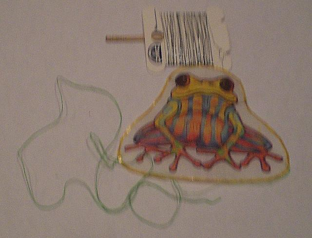 Flying Frog Kite