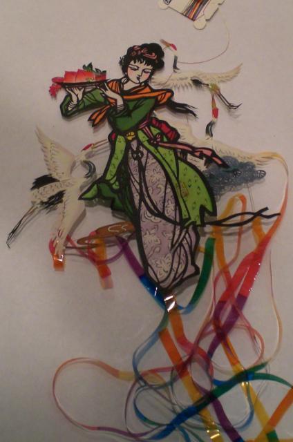 Marla's Maiden & 3 Cranes