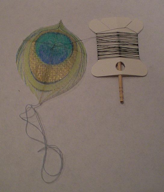 Peacock Feather Kite