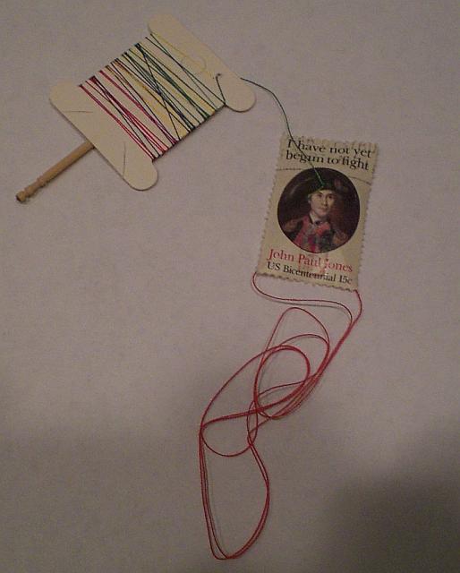 John Paul Jones Stamp